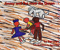 Jimmy Pike :  Jimmy and Pat Meet the Queen   by Pat Lowe, Illustrations by Jimmy Pike  Kimberley online bookshop