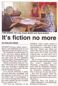Broome Advertiser, August 31, 2006