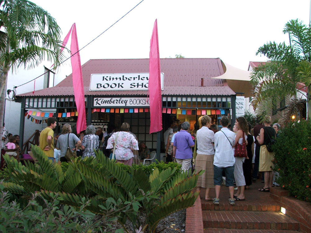 Book Launch at the Kimberley Bookshop: 2007