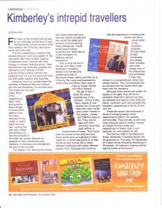 Broome Advertiser   Happenings   25 August 2006